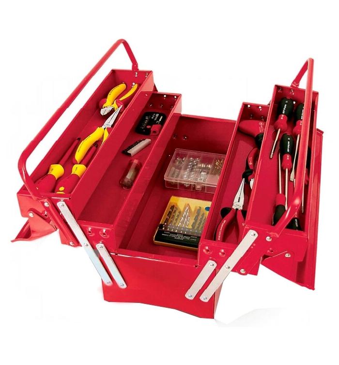 Caja de herramientas repuestos pino - Caja con herramientas ...